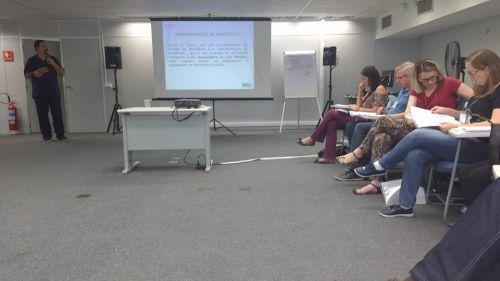 Representantes da Secretaria de Assistência participam de capacitação