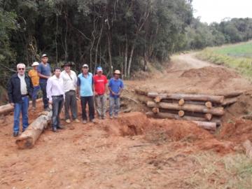 Ponte recuperada beneficiará moradores do bairro Barra Grande
