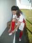 Atleta curiuvense disputa o Campeonato Paranaense de Futebol Feminino