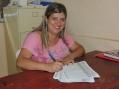 Patrícia Aparecida Kozera - Coordenadora e Supervisora da equipe de endemias de Curiúva