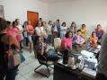 Professores reúnem-se com o prefeito para tratar sobre o novo estatuto do magistério