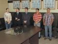 Composição da mesa para a cerimônia de posse do Conselho Tutelar