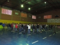 A cerimônia foi realizada do Ginásio de Esportes Municipal
