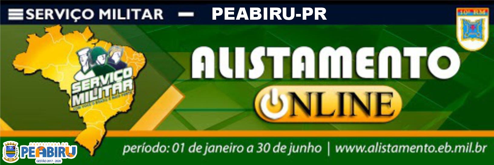 ALISTAMENTO ONLINE 2020
