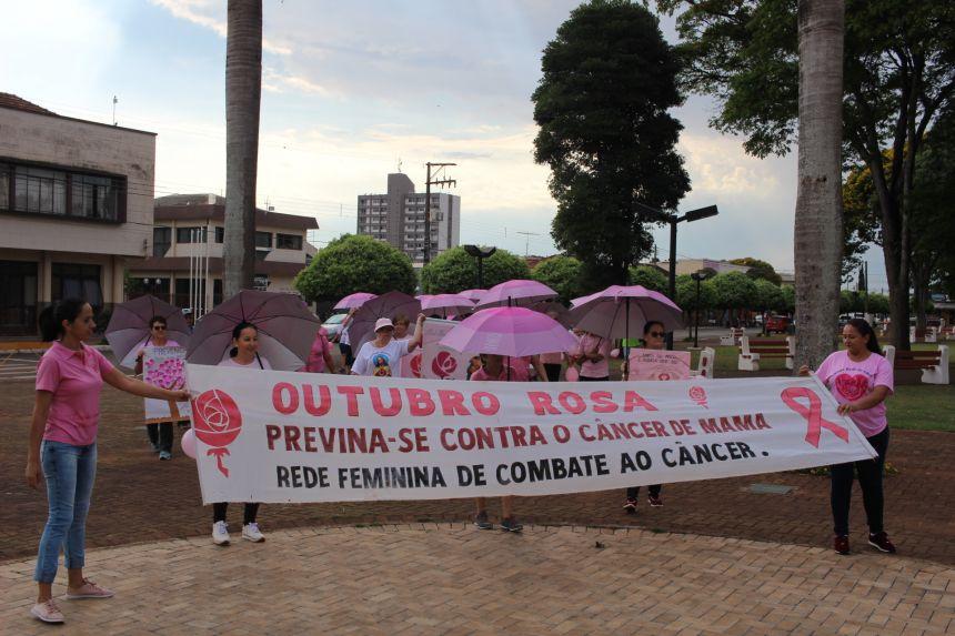 ABERTURA DO OUTUBRO ROSA EM PEABIRU