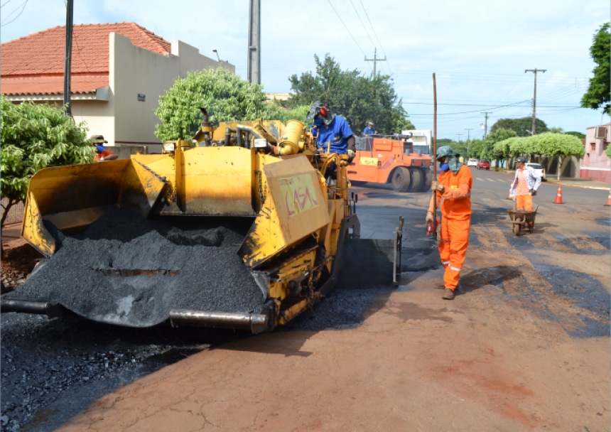 Com recursos da Prefeitura e da Câmara de Vereadores, ruas recebem melhorias