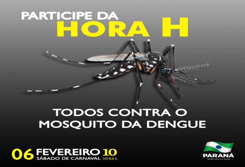 Hora H: Peabiru trava uma luta contra a dengue neste sábado