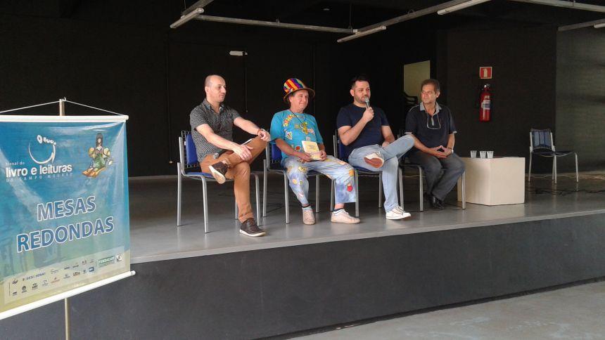 Peabiru marca presença na Bienal do Livro de Campo Mourão