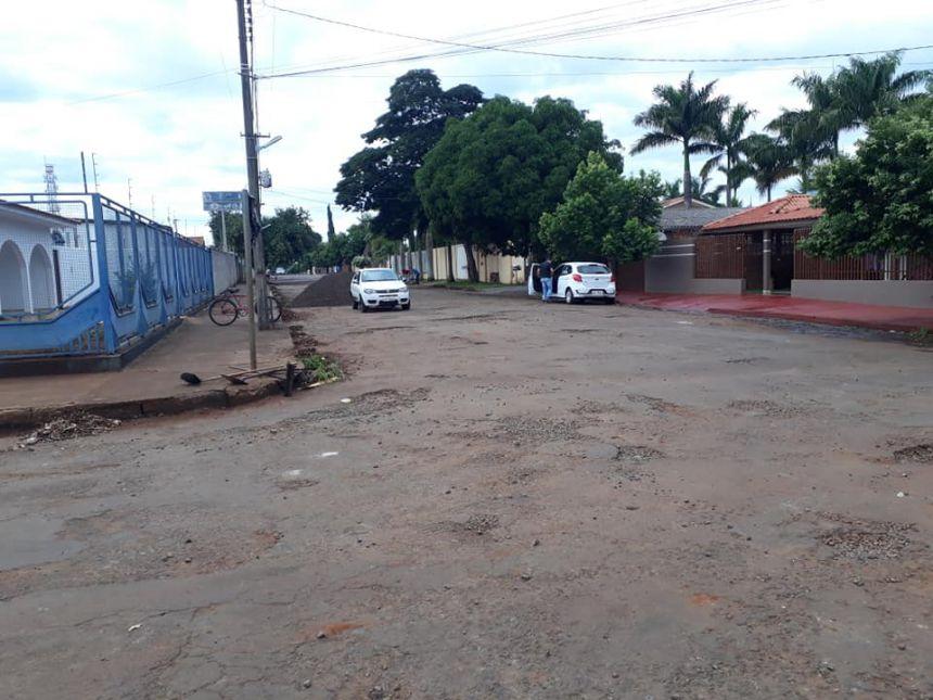 Mais três ruas recebem melhorias