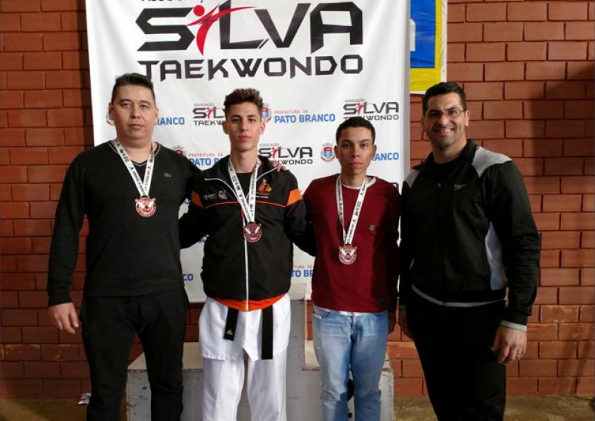 Peabiru é destaque na Copa Paraná de Taekwondo