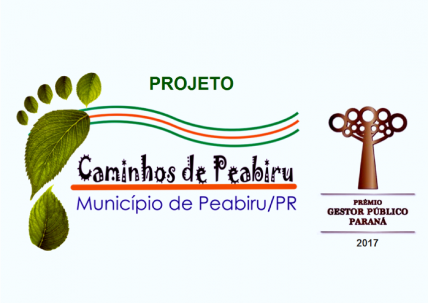Projeto Caminhos de Peabiru ganha prêmio estadual