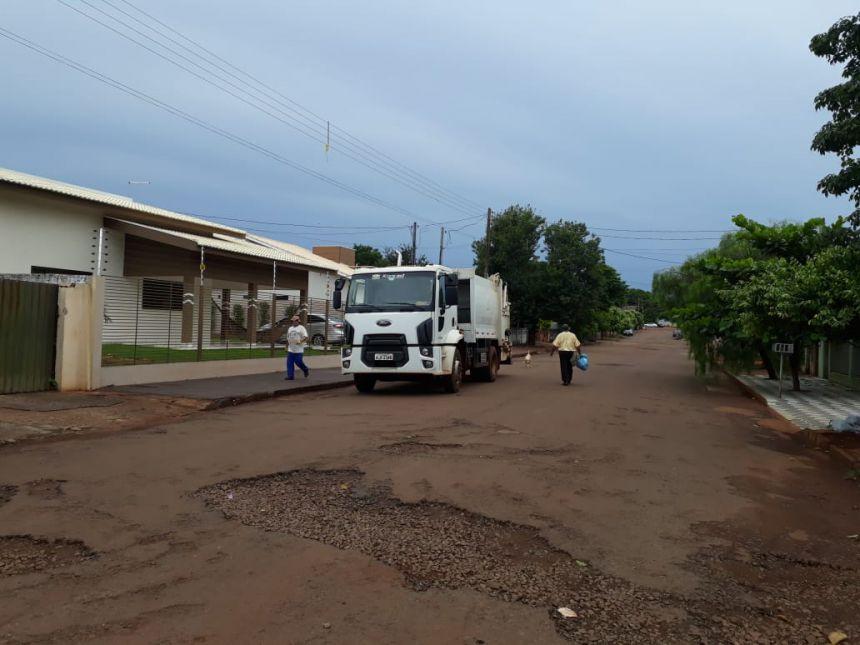 Sistema de coleta de lixo do município recebe melhorias