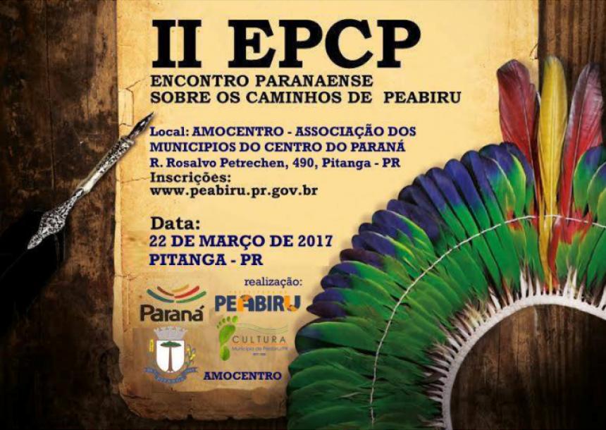 II EPCP irá acontecer em Pitanga - PR