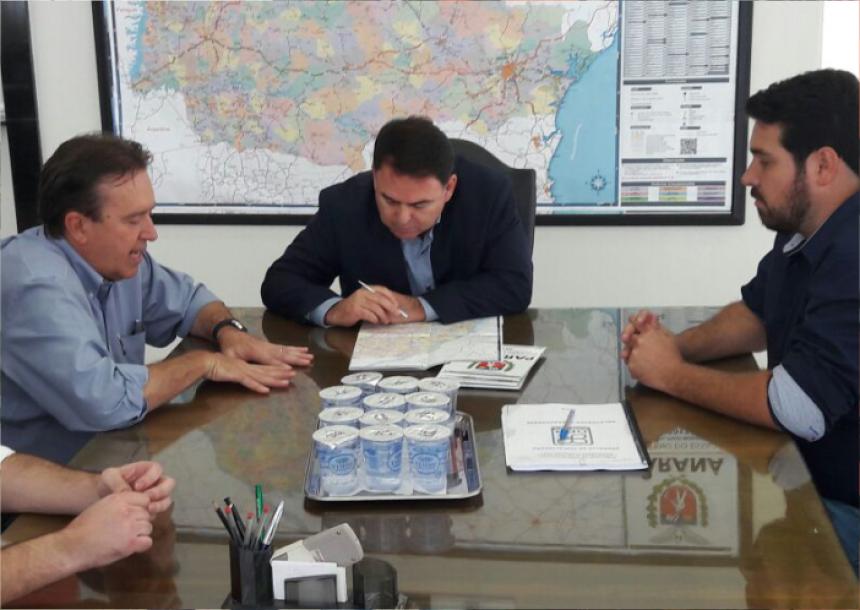 Secretário Bruno visita capital para tratar de interesses da cidade