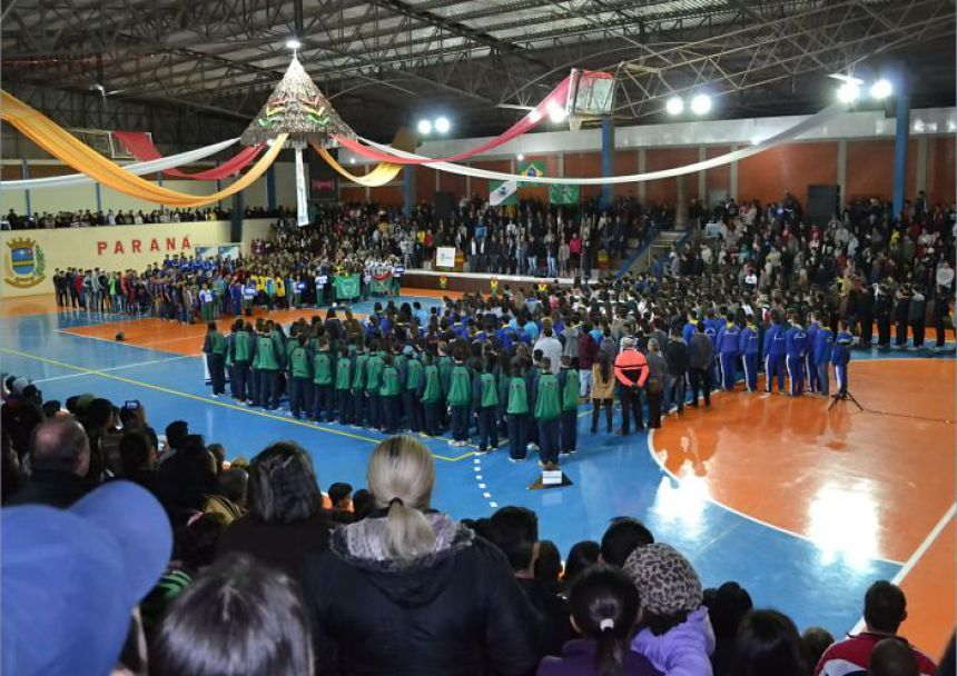 Peabiru realiza a abertura dos Jogos Escolares 2017
