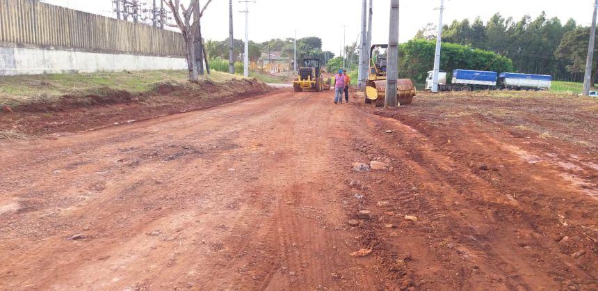 Prefeitura realiza melhorias nas vias que não possuem asfalto