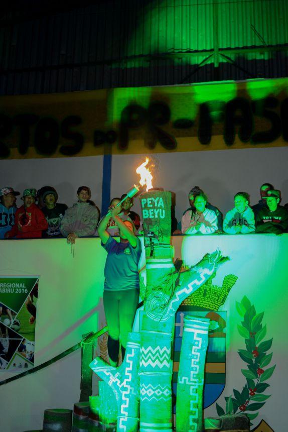 Caminhos de Peabiru tematiza abertura do Jogos Abertos