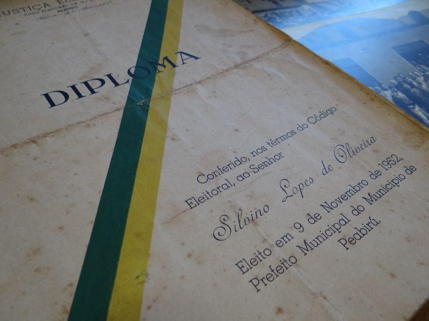 Filho de ex-prefeito faz doações ao Museu de Peabiru