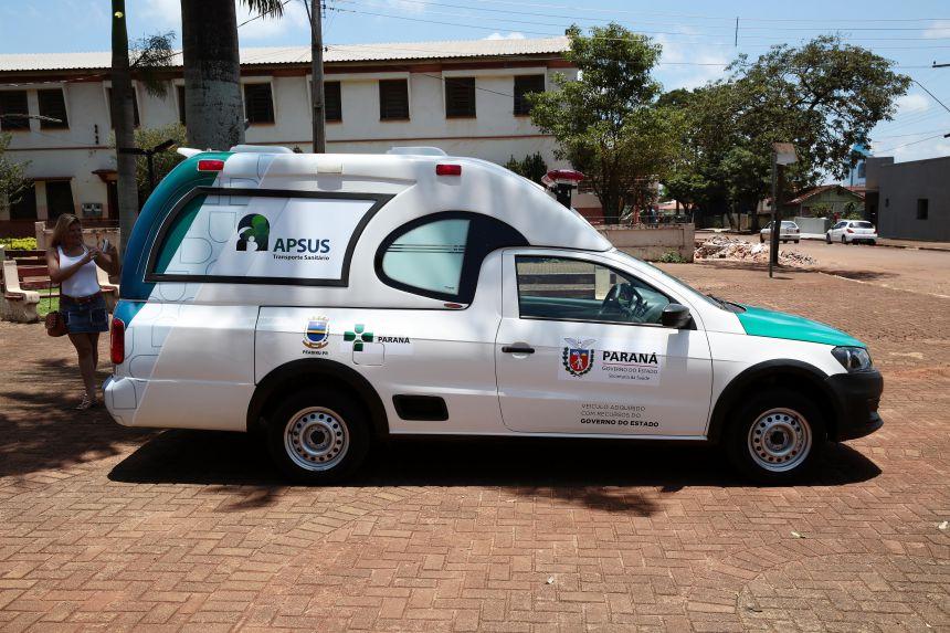 Saúde investe R$ 240 mil em compra de veículos em Peabiru