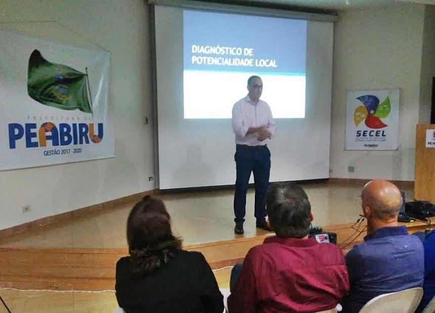 DIAGNÓSTICO DE POTENCIALIDADE DE PEABIRU ENTREGUE PELA UNESPAR.