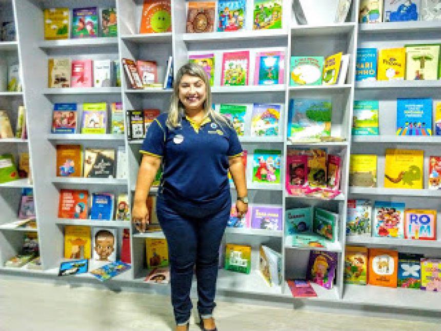 Escola Darci Ribeiro ganha Biblioteca Container