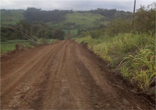 Estrada rurais estão recebendo melhorias
