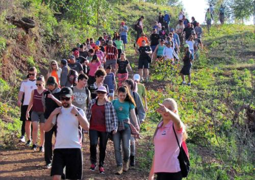 Sec. de Sáude e Div. de Cultura realizaram trilha ecológica