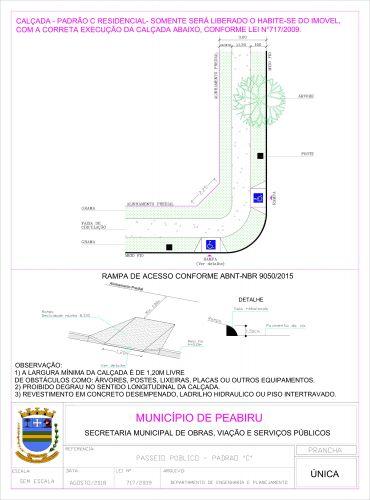 Lei Municipal para calçadas e resíduos sólidos
