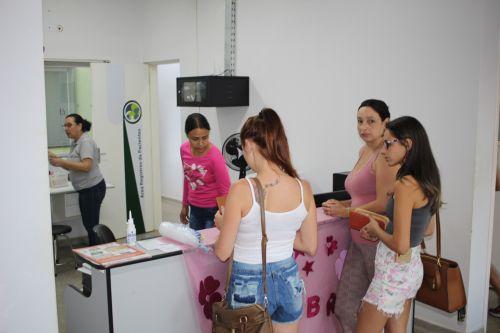 JÁ INICIOU A CAMPANHA DE COMBATE AO CÂNCER DE COLO DE ÚTERO E TESTE RÁPIDO