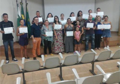 Curso Bom Negócio Paraná é concluído em Peabiru