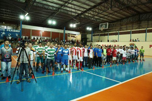 Peabiru inicia campeonato que comemora 63 anos do município