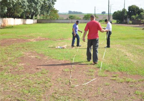Sondagem e Percolação do solo é realizado em Peabiru