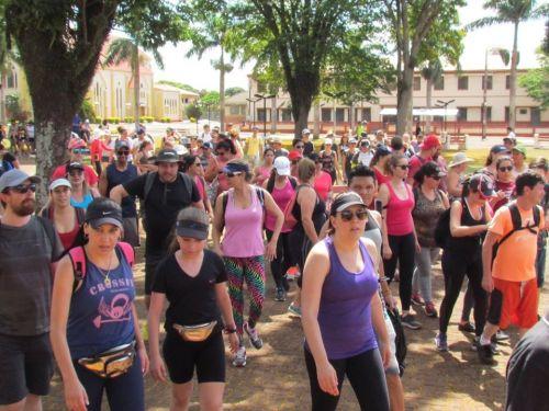 CERCA DE 600 VISITANTES NO FIM DE SEMANA EM PEABIRU-PR