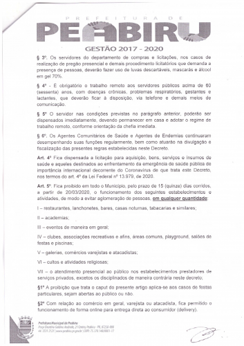 DECRETO Nº 32/2020