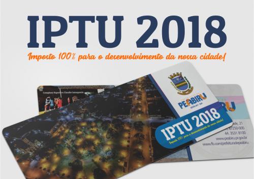 Prefeitura inicia hoje a entrega dos carnês de IPTU 2018