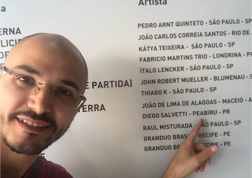 Músico representa Peabiru em Festival Nacional De Música