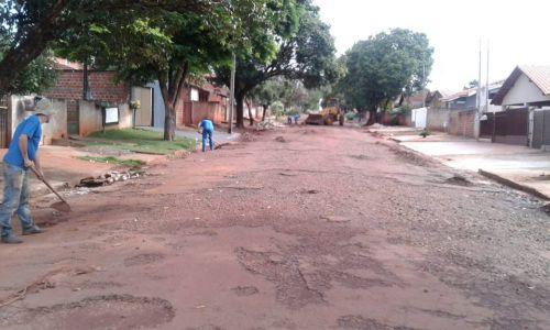 Mais 4 ruas irão receber recapeamento