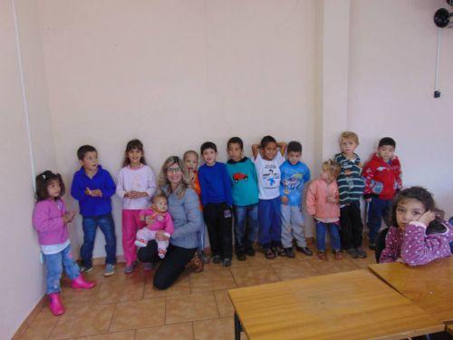 Crianças atendidas na Secretaria