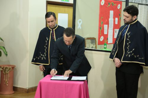 A prefeitura de Peabiru firmou compromissos com a