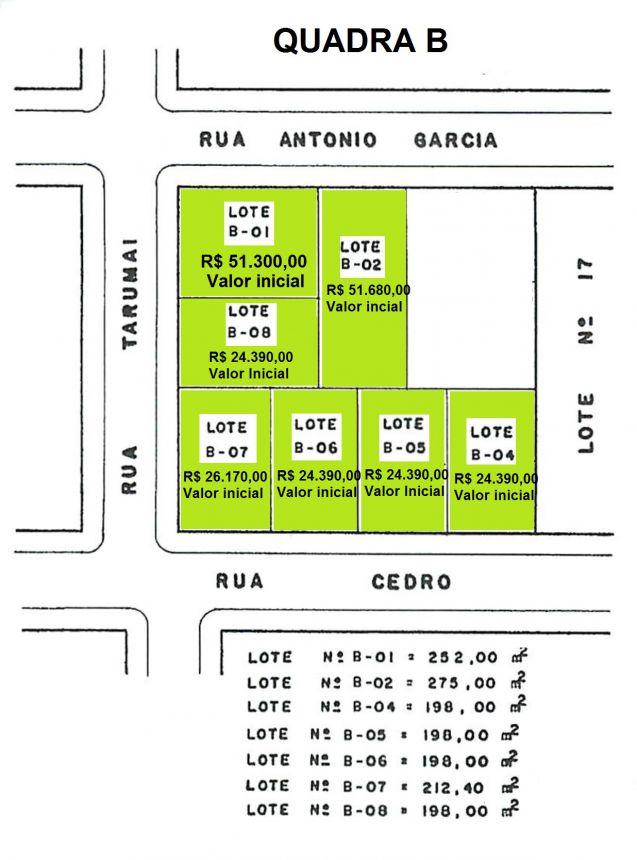 Prefeitura lança edital para venda de terrenos