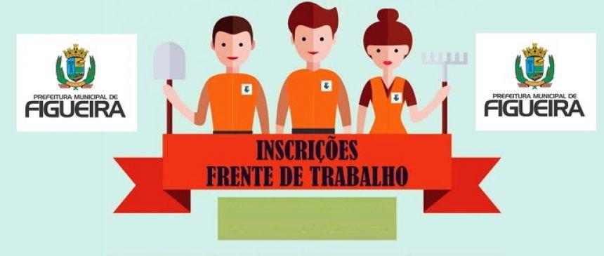 Edital FRENTE DE TRABALHO