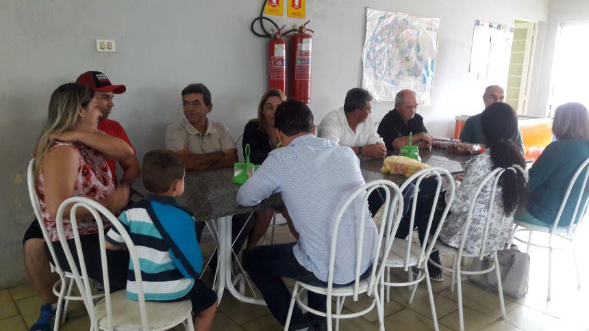 ALMOÇO DE CONFRATERNIZAÇÃO DO CONSELHO MUNICIPAL DE SAÚDE