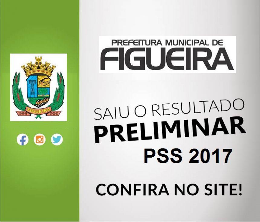 Resultado Provisório PSS 2017