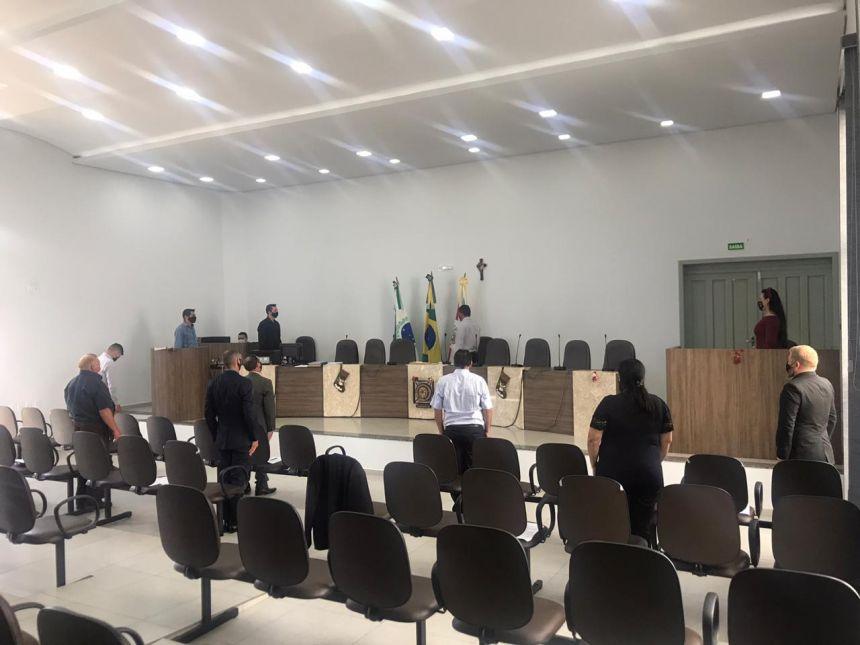 POSSE DOS VEREADORES E PREFEITO PARA A 7ª LEGISLATURA 2021 À 2024