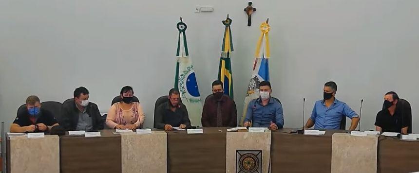 POSSE DO PREFEITO DE GUAMIRANGA - PR
