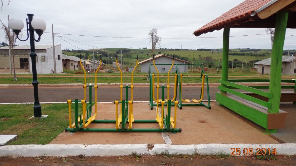 Santo Inácio adquiri novos equipamentos de ATI - Academia da Terceira Idade ....