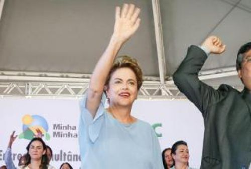 A presidente Dilma Rousseff mandou um re