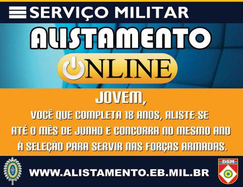 ALISTAMENTO ONLINE 2016