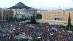 O primeiro-ministro da Grécia amea&