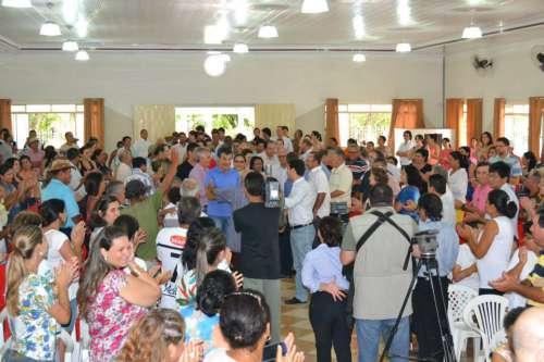 Município de Santo Inácio recebe governador Beto Richa e demais autoridades...
